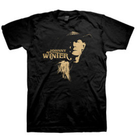 JOHNNY WINTER / WESTERN PHOTO / T-Shirts Tシャツ ジョニー・ウィンター