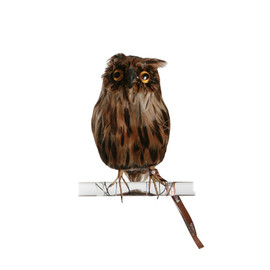 PUEBCO - Artificial Birds Owl Brown(S)