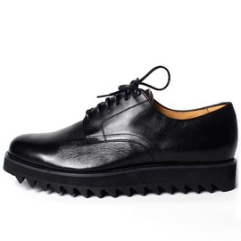Caminando - 'Postman' Derby Shoes - Black