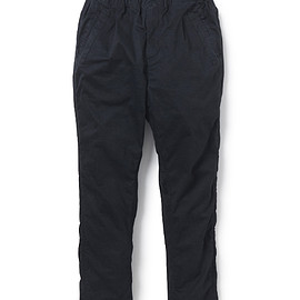 nonnative - PILGRIM SHIN CUT EASY PANTS COTTON JERSEY URETHANE COATED