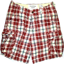 Abercrombie & Fitch - Vintage Abercrombie & Fitch Plaid Shorts Mens Clothing Size 33