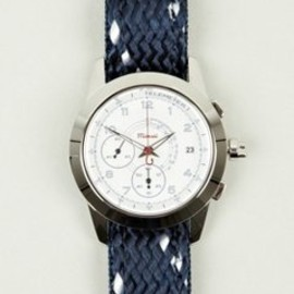 Miansai - M2 Chronograph Navy Rope and Leather Strap Watch