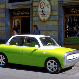 Ford - Ford 021C Concept LimeGreen