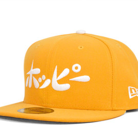 New Era - NEWERA×HOPPY 59FIFTY LOGO A GOLD