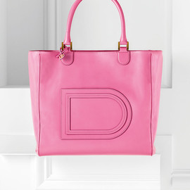 DELVAUX - Louise Satchel,Allure:Flamingo