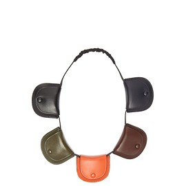 Loewe - Pouch leather necklace bag