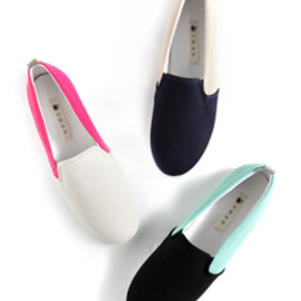 Dholic - coloration color point simple slip-on