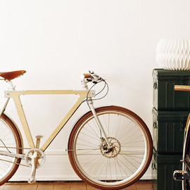 BSG bikes - WOOD.b wooden bicycles