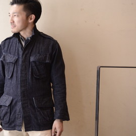 BONCOURA - Denim Fatigue Jacket