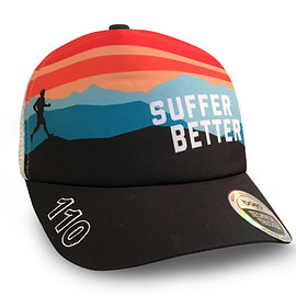 Suffer Better - Sunset Silhouette Trucker