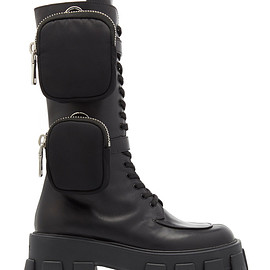 PRADA - FW2019 Leather Combat Boots