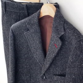 ANACHRONORM - Mohair Tailored 3 Pieces Jacket [ANC-185] & Pants [ANC-187]