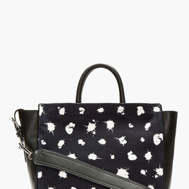 3.1 Phillip Lim - Black & midnight Navy Ryder Square Tote