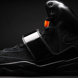 NIKE, KANYE WEST, Jordan Brand - Air Yeezy x Air Jordan VI Sample - Black & Orange