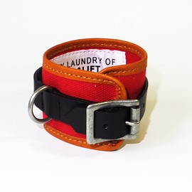PEEL&LIFT - canvas wrist strp/red