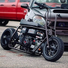 Cool rigid mini bike