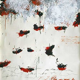 Cy Twombly - Petals of Fire