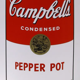 Andy Warhol - Title: Campbell Soup Can: Pepper Pot