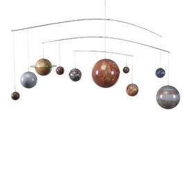 Fab - solar system mobile