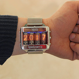 NixieHorizonte - Nixie tube watch