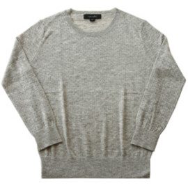 karen walker - Dropstitch Jumper (grey marle)