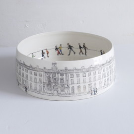 Helen Beard - Skaters at Somerset House