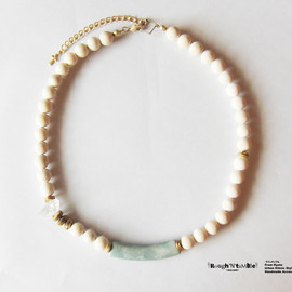 Rough'N'tumble - Summer collection river stone necklace