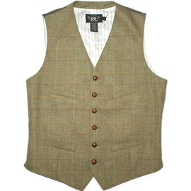 RRL - RRL BRITISH COUNTRY TWEED VEST