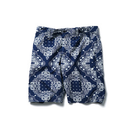 SOPHNET. - INDIGO OXFORD SHORT PANT