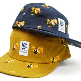 CITYFELLAZ - ALL OVER TUCI 5 PANEL CAP