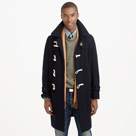 J.CREW - WOOL TOGGLE COAT