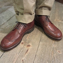ALDEN - #58702 LONG WING TIP