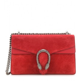 GUCCI - FW2015 Dionysus suede and leather shoulder bag