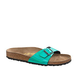 BIRKENSTOCK - Madrid Green Metallic