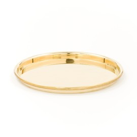 Discipline - ROULE' - POLISHED BRASS TRAY / Pauline Deltour