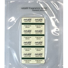 retaW - fragrance tablet