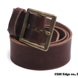 NEIGHBORHOOD - GARRISON.SOLID/CL-BELT(レザーベルト)BROWN284-000330-016-【新品】【smtb-TD】【yokohama】