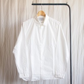 YAECA - Comfort Shirt Standard long #white