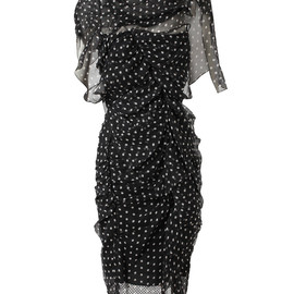 Nina Ricci - Polka Dot Silk Chiffon Dress