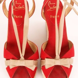 Christian Louboutin - Bow Wedges
