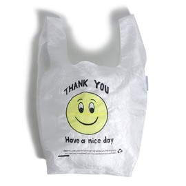 LAUREN DICIOCCIO - SMILEY FACE TOTE BAG
