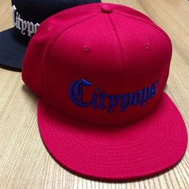MAS. - Citypops SNAPBACK (Red/Blue)