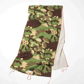 nowartt, GO OUT JAMBOREE - MASHROOM CAMO STOLE