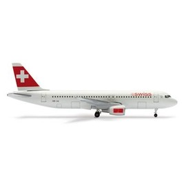 swiss air - Herpa Wings Swiss Air Lines A320 Model Airplane