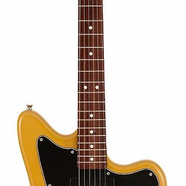 Fender - Limited Mahogany Offset Telecaster P90 Rosewood Fingerboard Yellow Trans