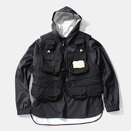 Columbia Black Label, Mountain Research - ヘンリーズ ポイント ベスト/Henrys Point Vest