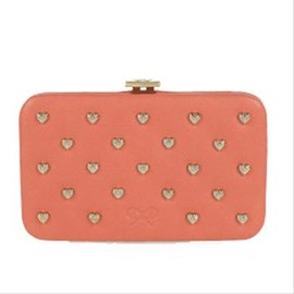 ANYA HINDMARCH - MIAMI  VELVET CALF IN CORAL