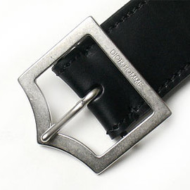 DIOR HOMME - Arrow Buckle Black Belt