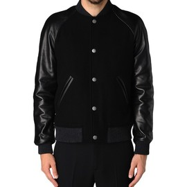 A.P.C. - apc varsity leather jacket A.P.C VARSITY JACKET | THE CORNER PROMOTIONAL CODE