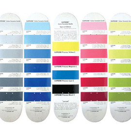 Supreme - Ryan McGinness designed the Pantone® series of skate decks for Supreme in 2000